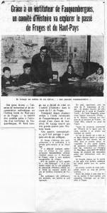 La Voix du Nord , création du comité d'histoire